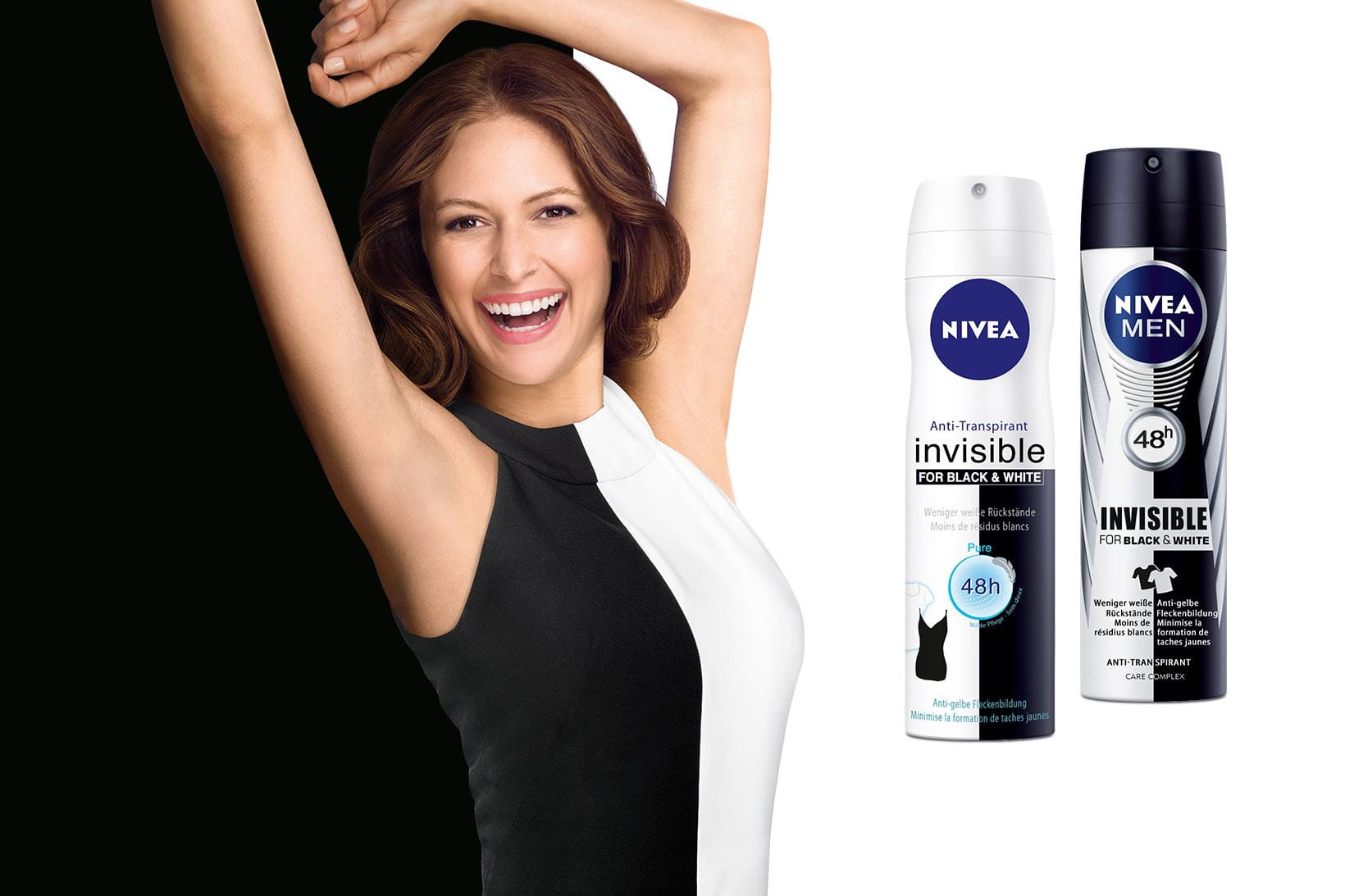 Innovation NIVEA Deo Black & White